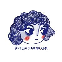 Best Wall Friend  logo